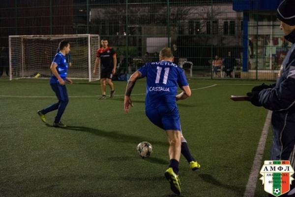 Деспасито и Castalia с рутинни победи съотвено срещу Метро (Варна) и МФК Импакт